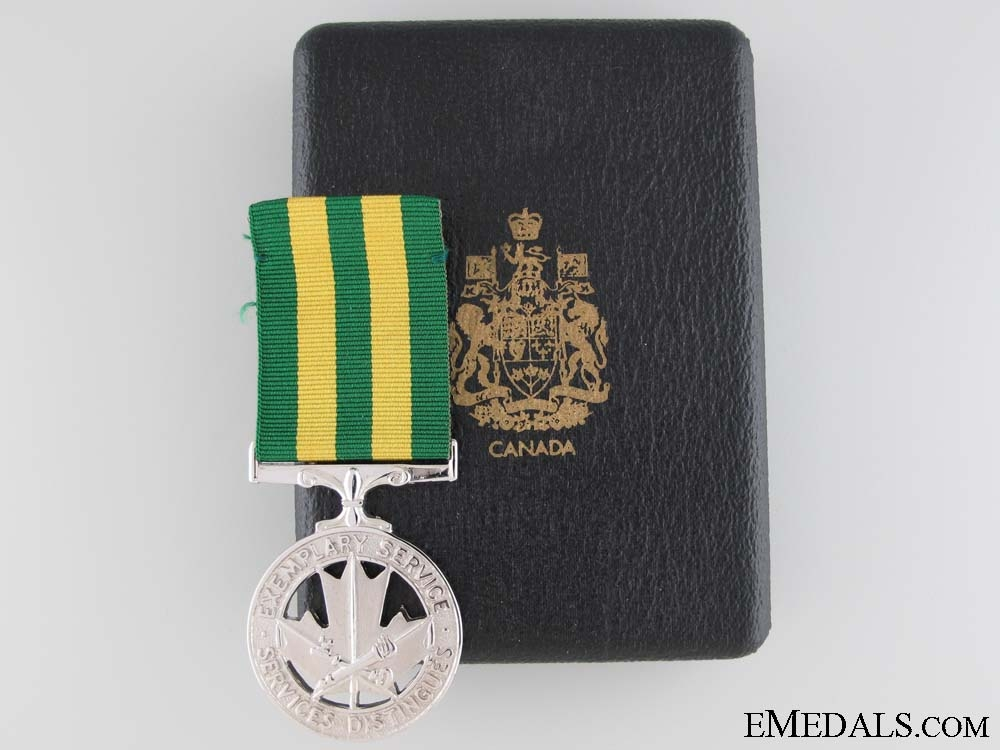 eMedals-Canadian Corrections Exemplary Service Medal