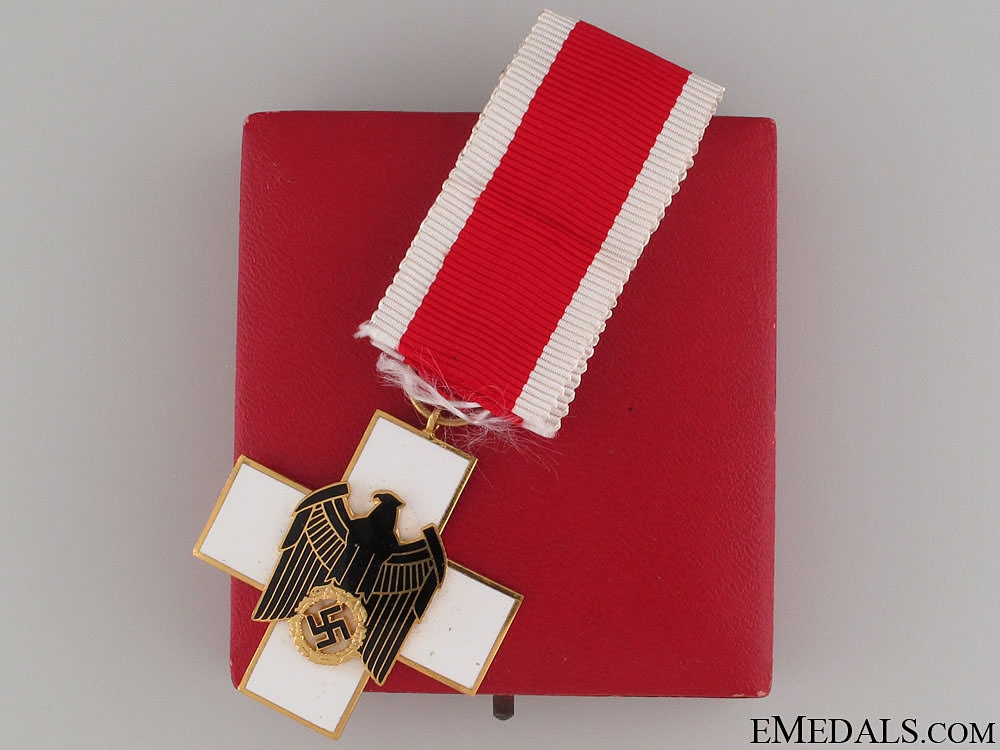 eMedals-Cased German Social Welfare Decoration