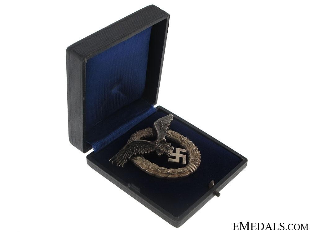 eMedals-Cased Pilot's Badge - Juncker