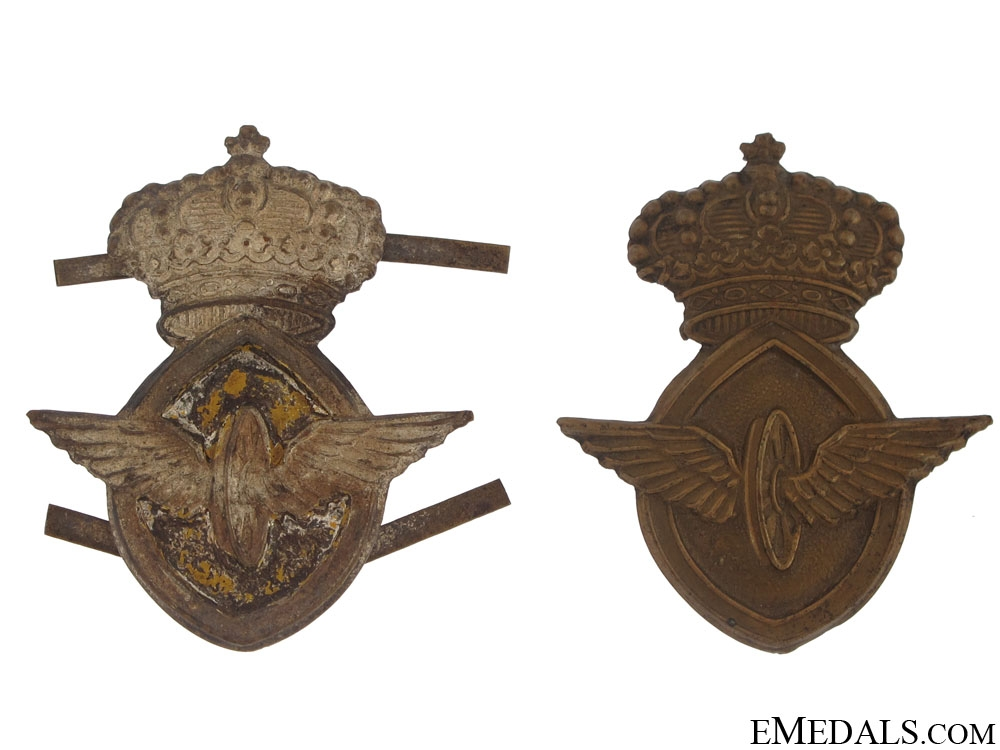 eMedals-Two Motor Transport Badges