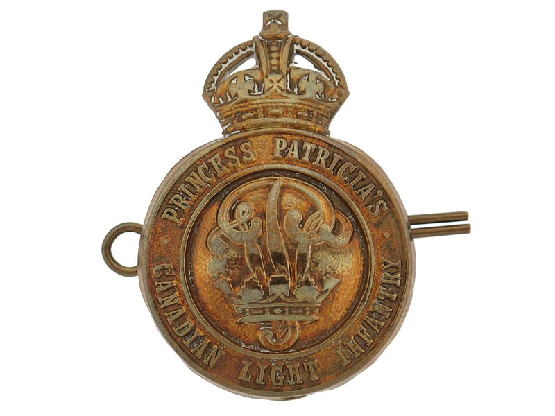 eMedals-Princess Patricia's Canadian Light Infantry Cap Badge