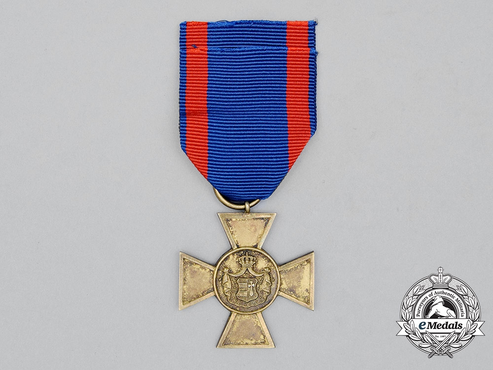 eMedals-Oldenburg, Grand Duchy. A House & Merit Order, Honour Cross
