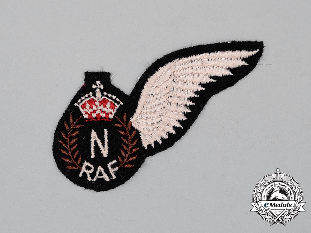 eMedals-A Second War Royal Air Force (RAF) Navigator (N) Wing