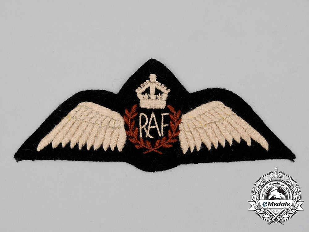 eMedals-A Second War Royal Air Force (RAF) Indian Theatre Made Pilot Wing
