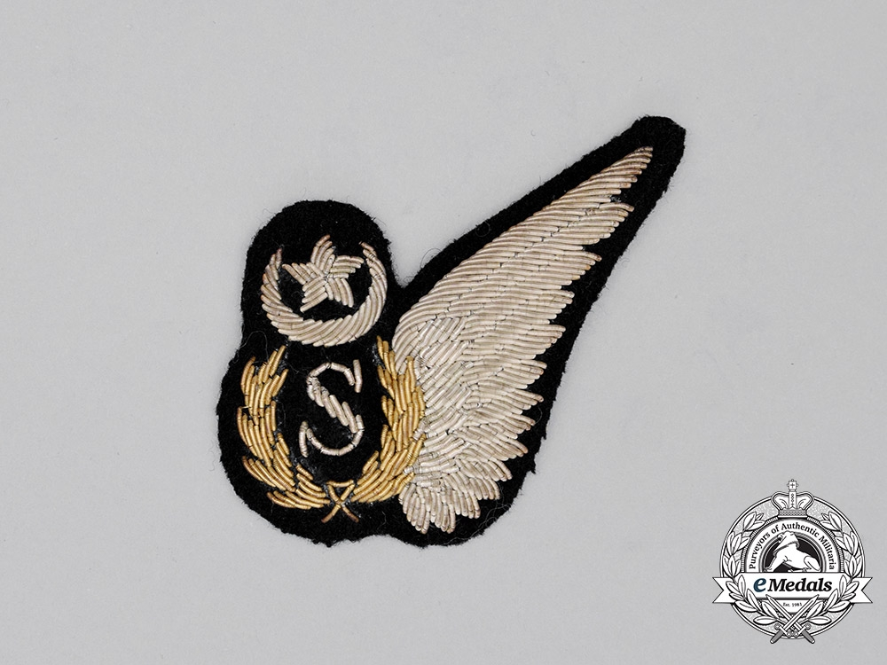 eMedals-A Pakistan Air Force (PAK) Signaller's Wing