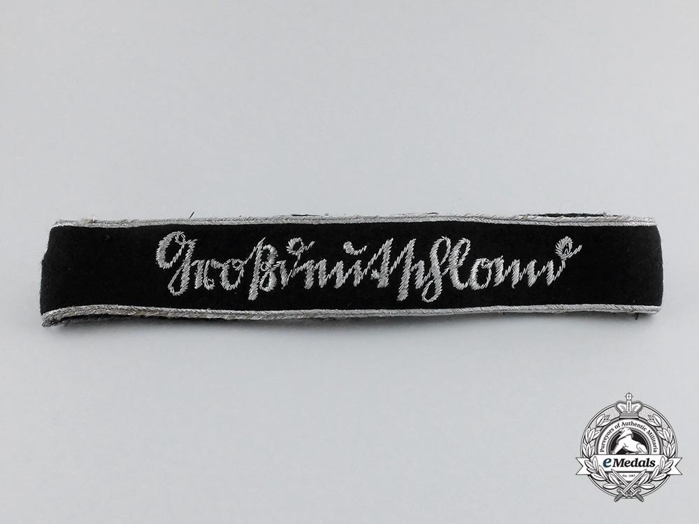 """eMedals-A Panzergrenadier """"Großdeutschland"""" Division Officer's Cuff Title"""