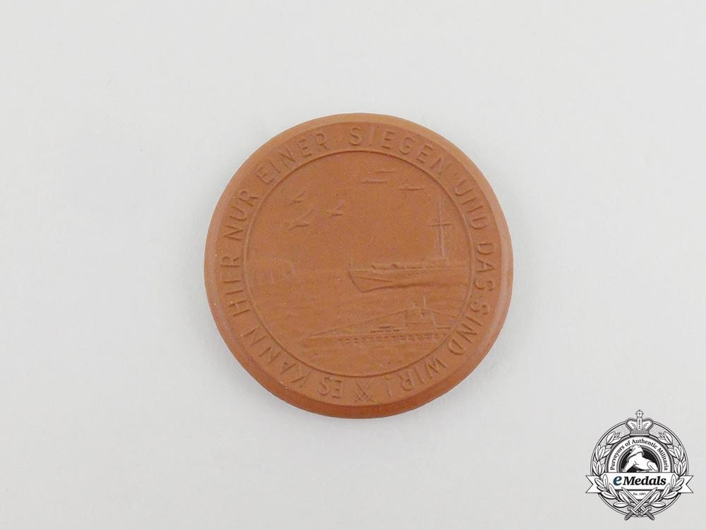eMedals-A German Kriegsmarine Patriotic Table Medal