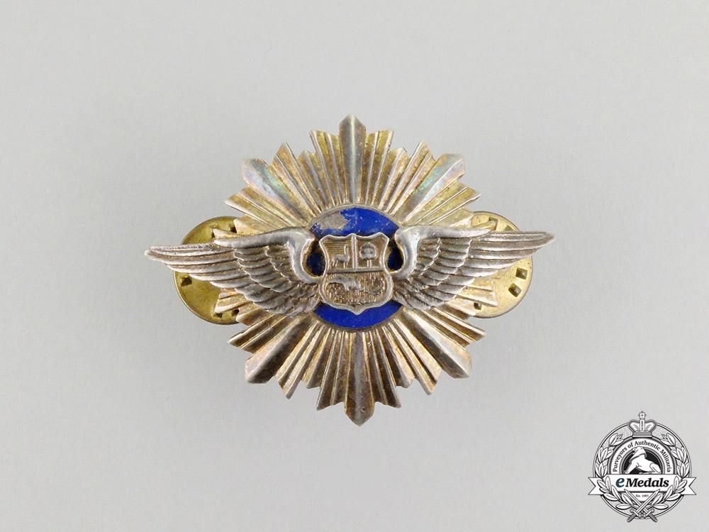eMedals-A Peruvian Air Force Merit Badge