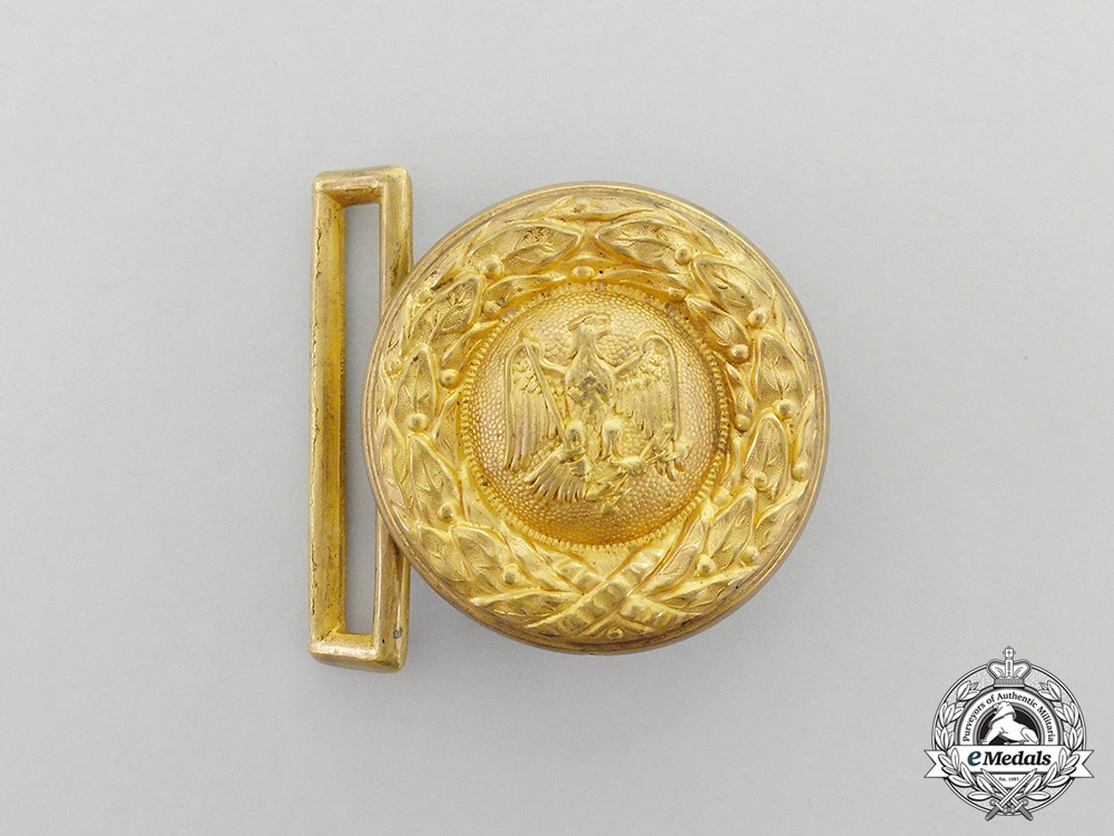 eMedals- A German Institution Administrative Official Belt Buckle