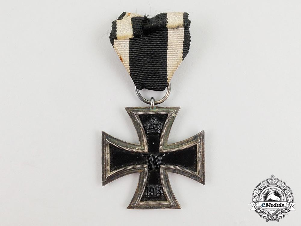 eMedals-A First War Prussian Iron Cross 2nd Class 1914 by Godet & Sohn, Berlin
