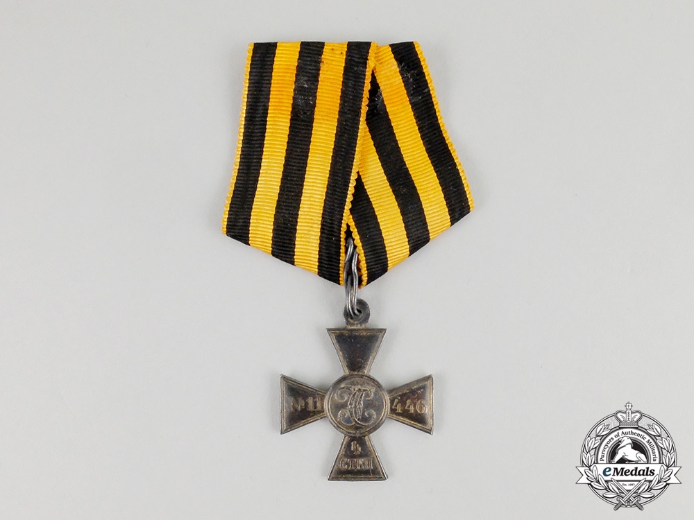 eMedals-   A Russian Imperial St. George Cross; Fourth Class