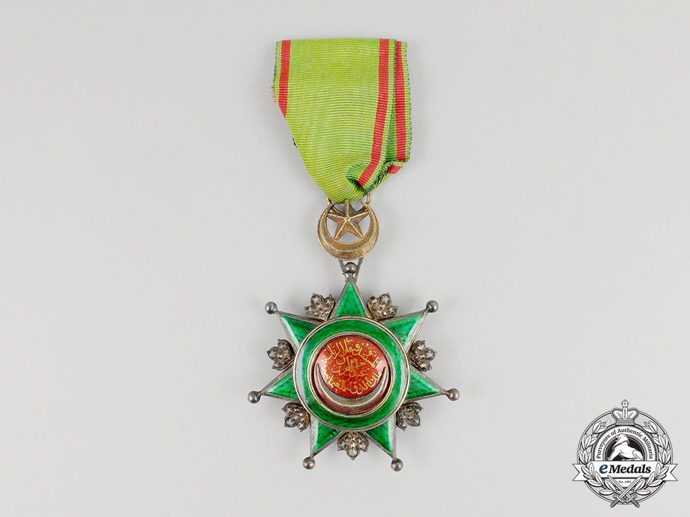 eMedals-A Turkish Order of Order of Osmania; Breast Badge 4th Class