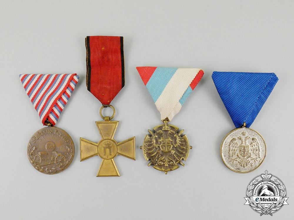eMedals-Four Serbian Awards & Decorations