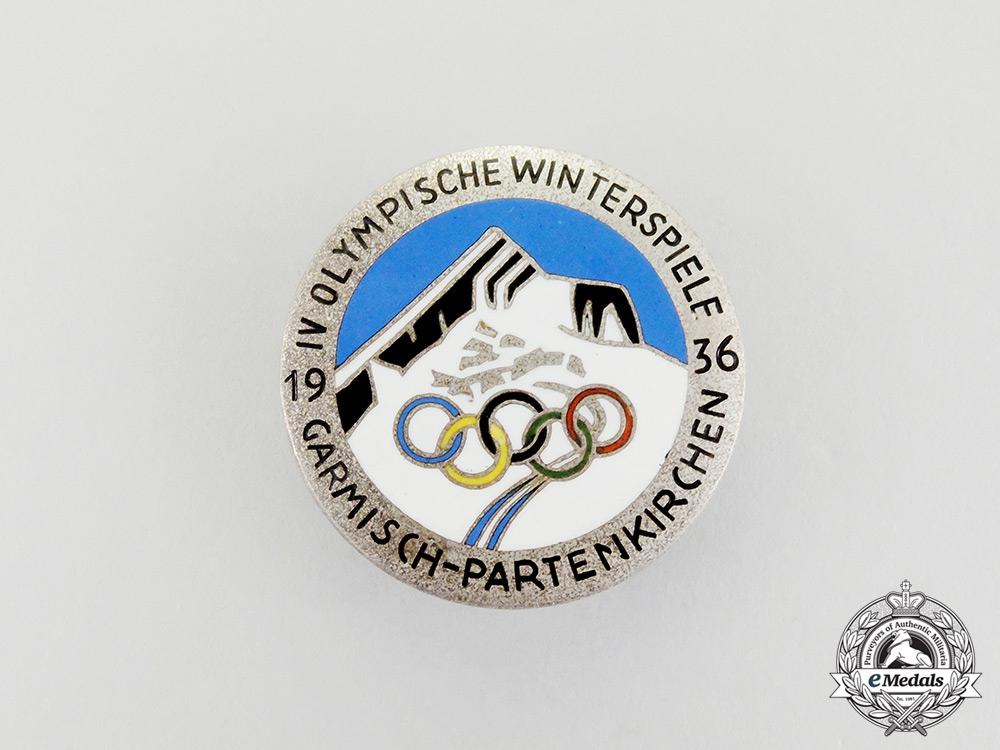 eMedals-A 1936 Olympic Winter Games in Garmisch-Partenkirchen Badge