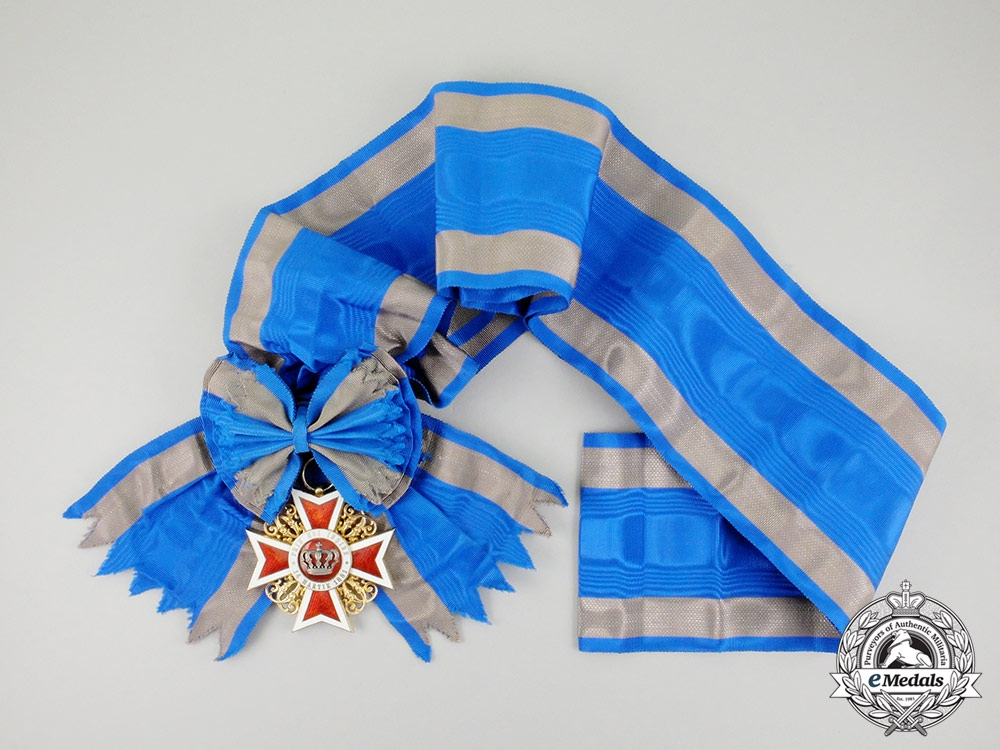 eMedals-Romania, Kingdom. An Order of the Crown, Grand Cross, c.1920