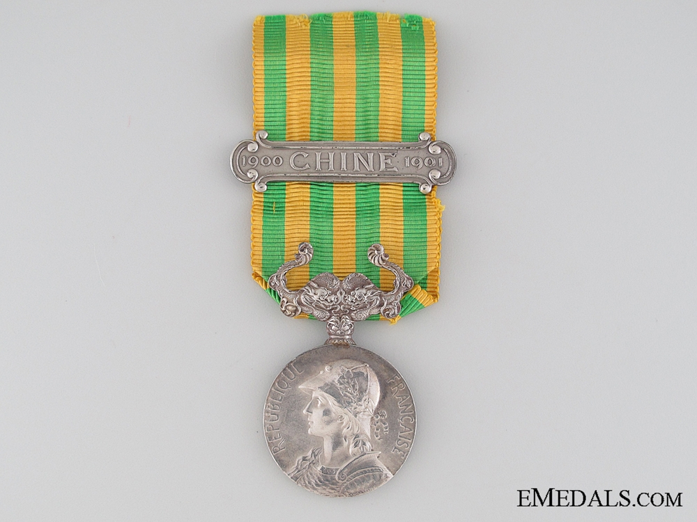 eMedals-French China Medal 1900-1901