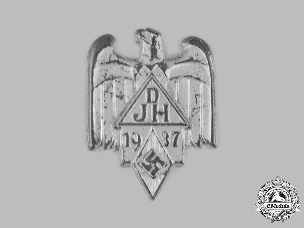 eMedals-Germany, DJ/HJ. A 1937 Joint DJ and HJ Event Badge