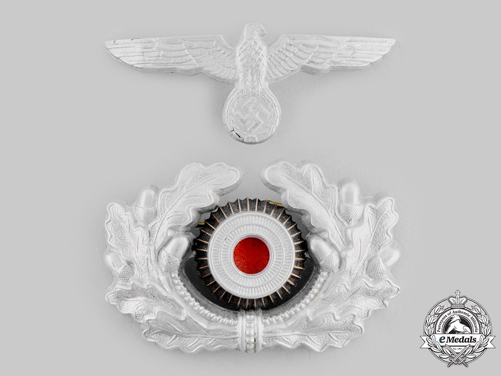 eMedals-Germany, Heer. A Visor Cap Eagle and Cockade, II Pattern