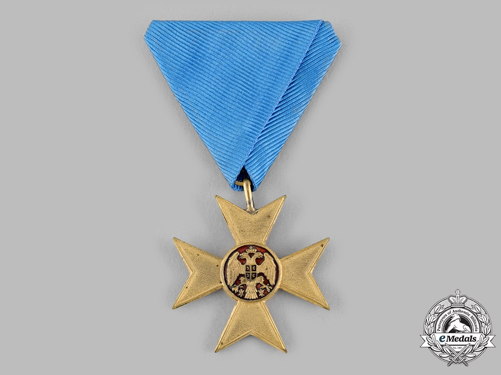 eMedals-Serbia, Kingdom. A Cross of Charity for the First Balkan War 1912