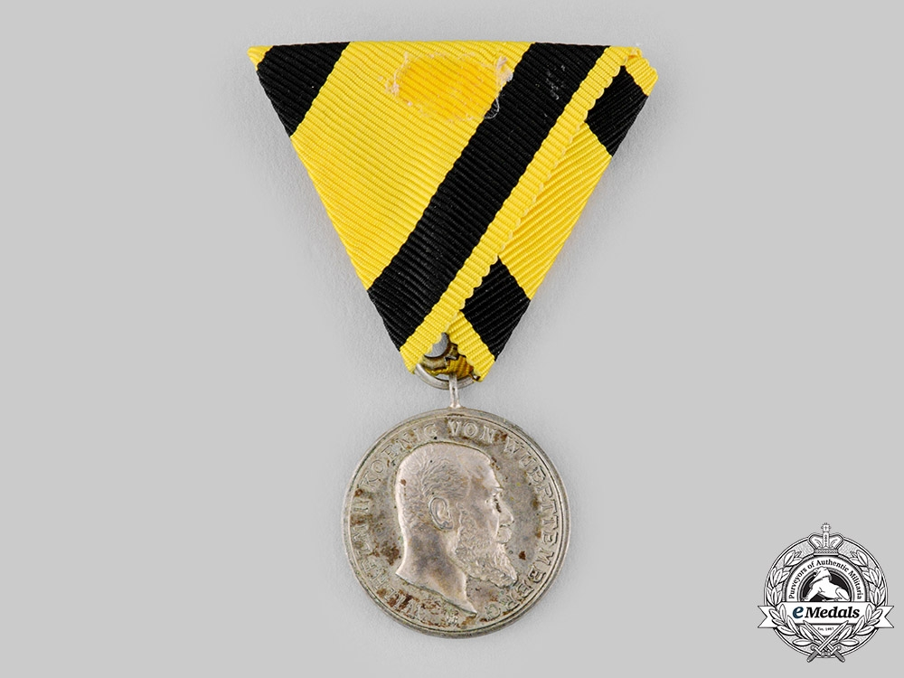 eMedals-Württemberg, Kingdom. A Military Merit Medal in Silver, c.1900