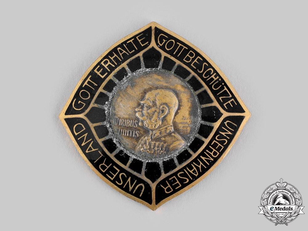 eMedals-Austria, Imperial. An Emperor Franz Joseph I Patriotic Badge