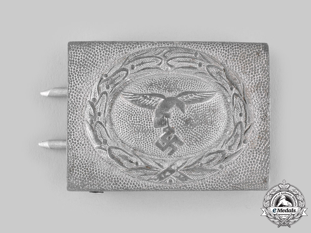 eMedals-Germany, Luftwaffe. An EM/NCO's Belt Buckle