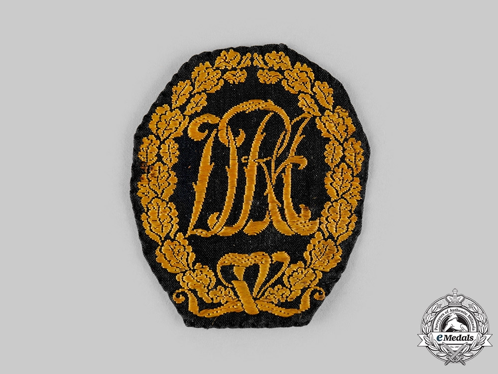 eMedals-Germany, DRL. A Sports Badge in Gold, Cloth Version