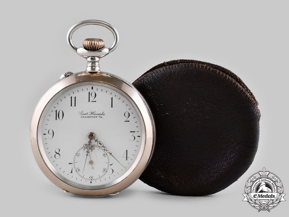 eMedals-Germany, Imperial. A Presentation Watch for Years of Faithful Service in the Royal Fire Defence of Spandau, c.1910