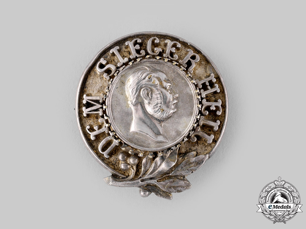eMedals-Germany, Imperial. A Kaiser Wilhelm I Patriotic Badge