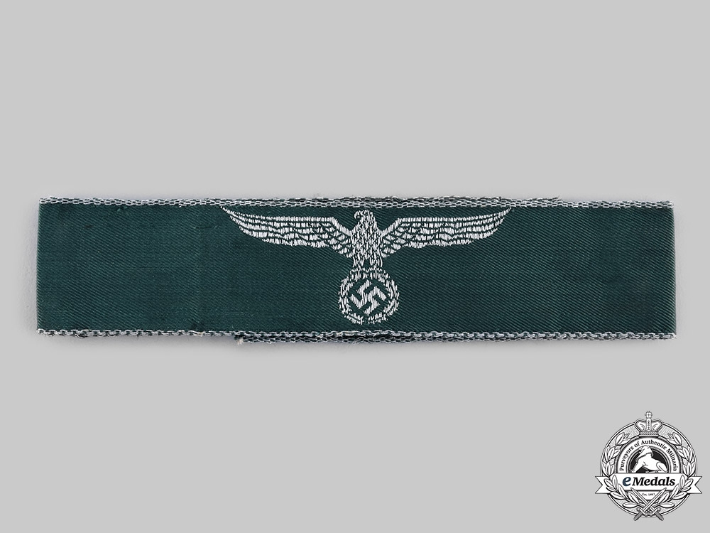 eMedals-Germany, Third Reich. A Land Customs Service Cuff Title