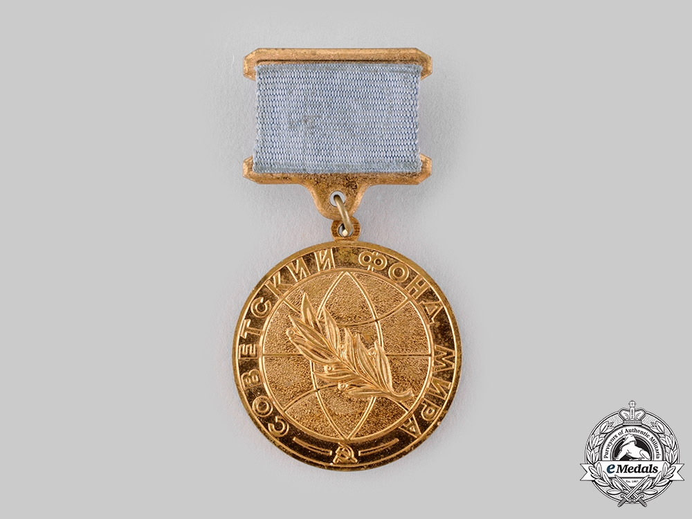 eMedals-Russia, Soviet Union. A Soviet Peace Foundation Medal of Honour