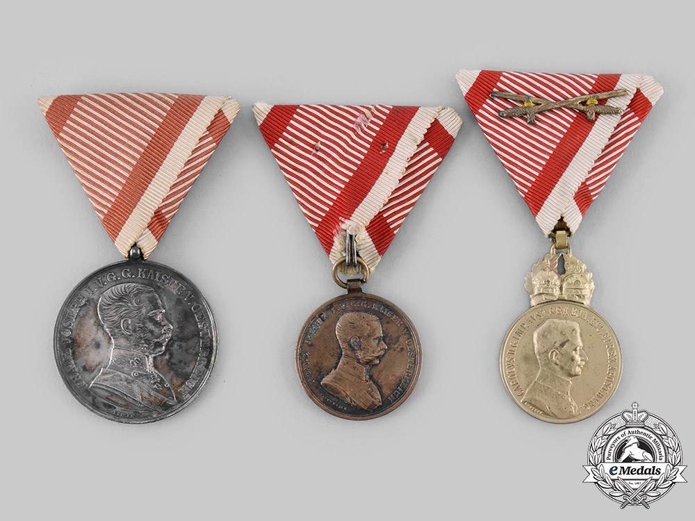 eMedals-Austria, Empire. A Lot of Military Medals & Awards