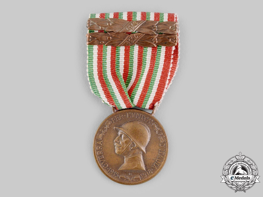 eMedals-Italy, Kingdom. A Medal for the Italian-Austrian War 1915-1918