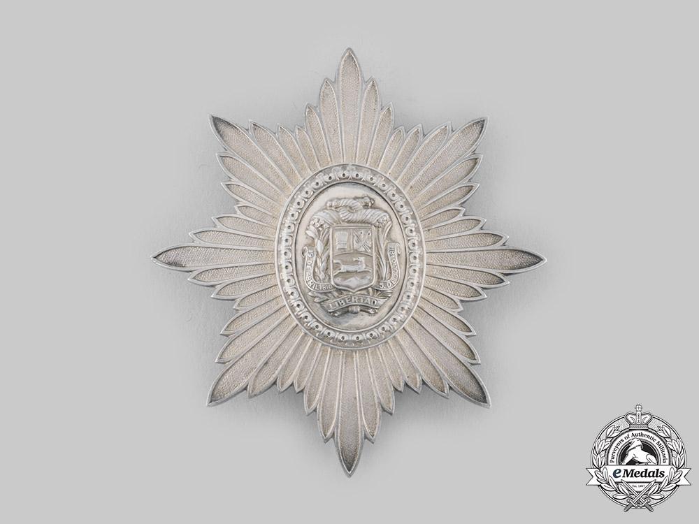 eMedals-Venezuela, Republic. An Order of the Liberator, III Class Star, c.1950
