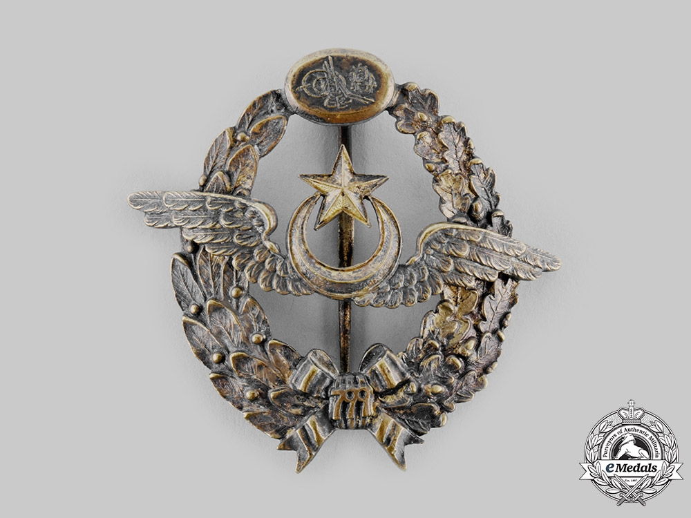 eMedals-Turkey, Ottoman Empire. An Aviation Squadrons of the Ottoman Empire Pilot's Badge