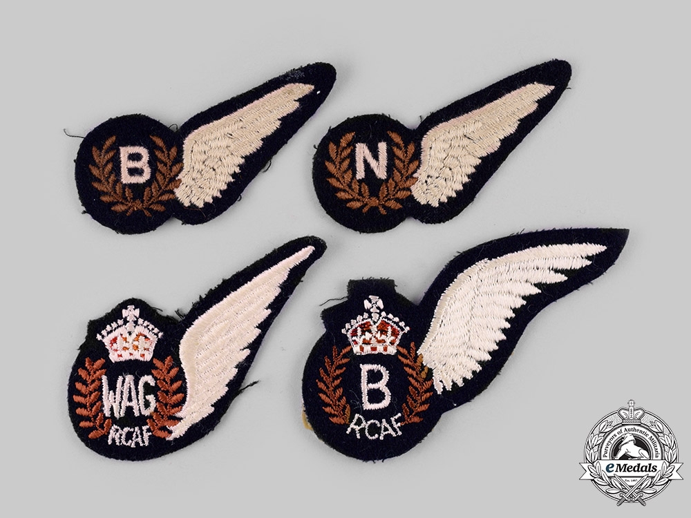 eMedals-Canada, United Kingdom. Four Air Force Wings