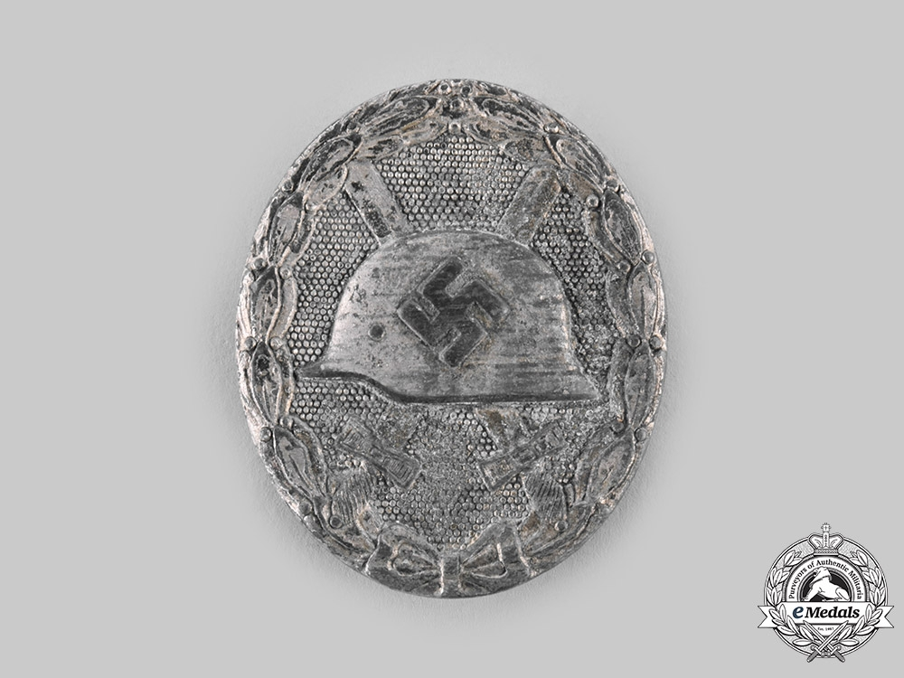 eMedals-Germany, Wehrmacht. A Wound Badge, Silver Grade, by Klein & Quenzer