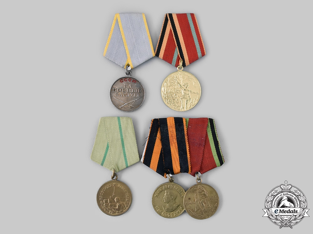 eMedals-Russia, Soviet Union. Five Medals