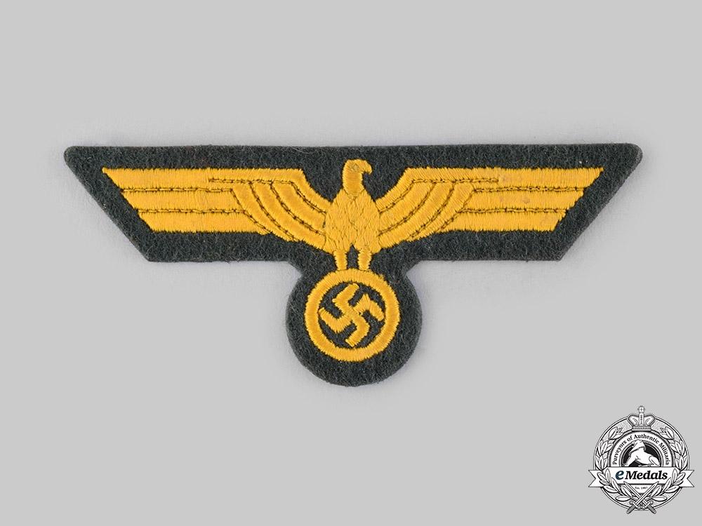 eMedals-Germany, Kriegsmarine. A Coastal Artillery NCO's Breast Eagle