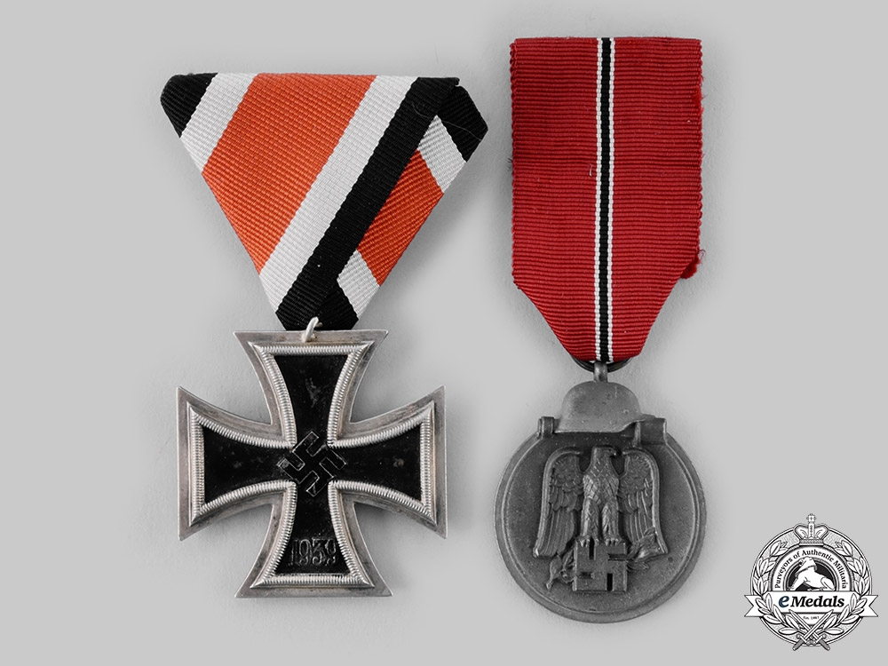 eMedals-Germany, Wehrmacht. A Pair of Campaign Medals