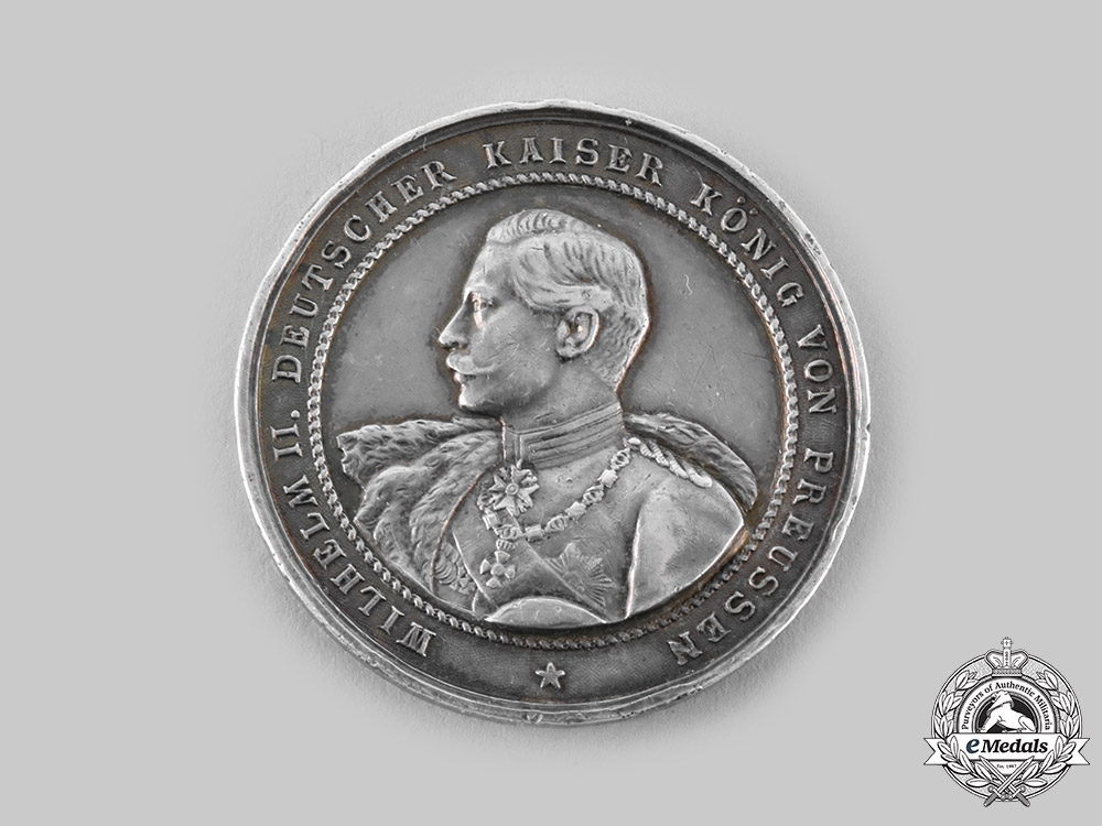 eMedals-Prussia, Kingdom. A Wilhelm II Table Medal