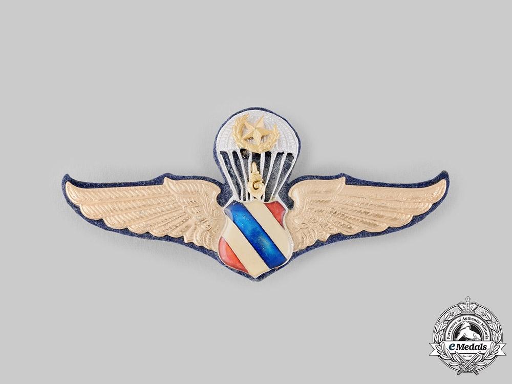 eMedals-Thailand, Kingdom. A Master Parachutist Badge