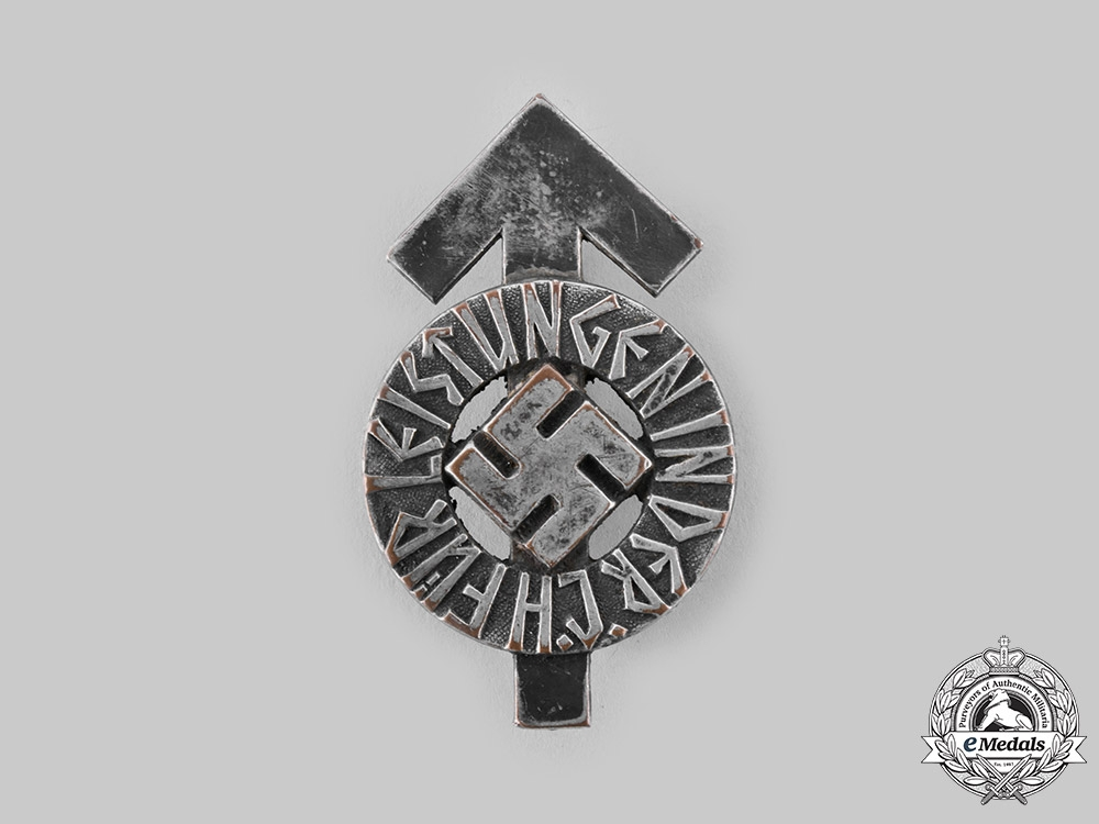 eMedals-Germany, HJ. A Proficiency Badge in Silver