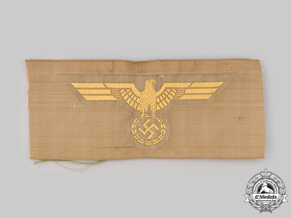 eMedals-Germany, Kriegsmarine. An EM/NCO's Tropical Breast Eagle