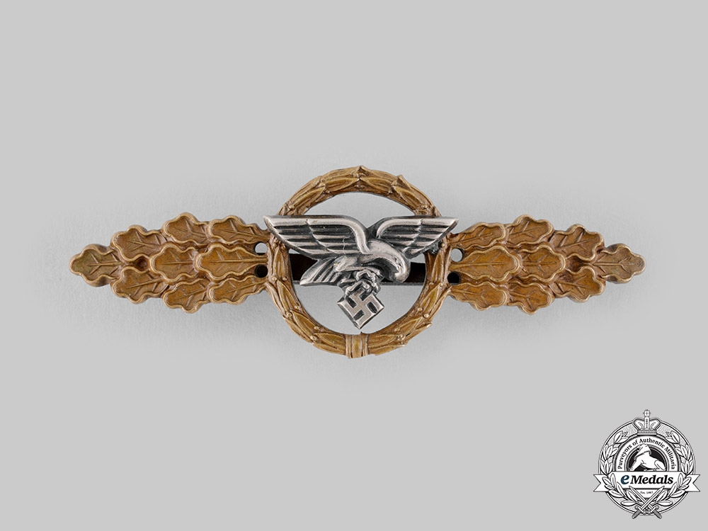 eMedals-Germany, Luftwaffe. A Squadron Clasp for Transport and Glider Pilots, Bronze Grade