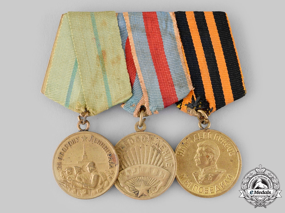 eMedals-Russia, Soviet Union. A Defence of Leningrad Veteran's Group