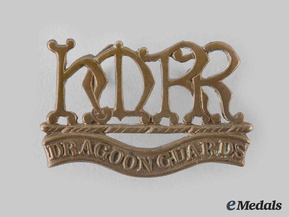 eMedals-United Kingdom. A Boer War Her Majesty's Dragoon Guards Shoulder Title 1900-1901