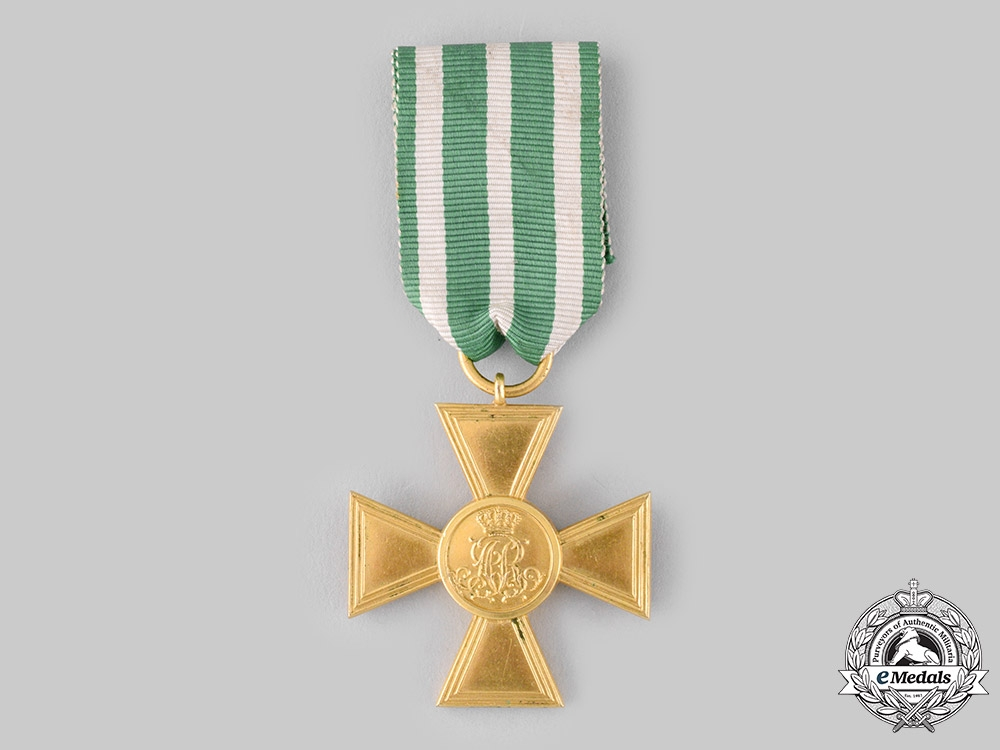 eMedals-Saxony, Kingdom. An Officer's 25-Year Long Service Cross, c.1900