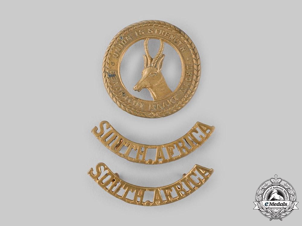 eMedals-South Africa, Republic. A General Service Insignia Set, c.1945