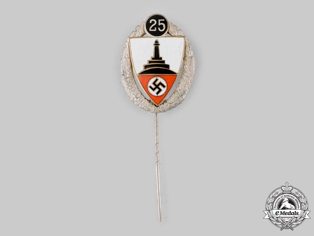 eMedals-Germany, Third Reich. A Kyffhäuser League 25-Year Membership Badge